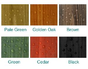 OUTDOOR PLAY xx - DIY preservative - waterproof colour seal