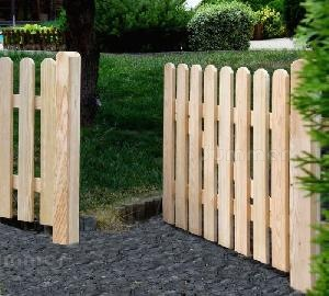 FENCING - Single and double gates, pressure treated timber