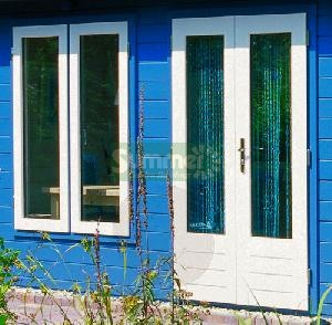 LOG CABINS - Door and window options