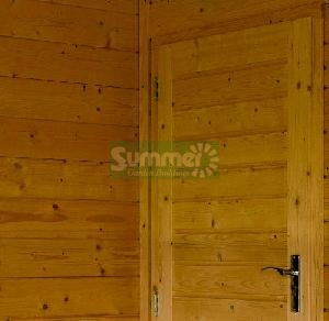 LOG CABINS - Internal partitions and internal doors