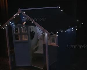 OUTDOOR PLAY - Solar powered string lights