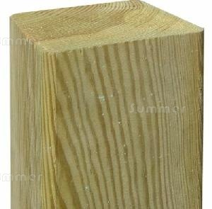 Fence posts, pressure treated timber