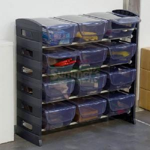 SHEDS - Shelving - plastic push fit