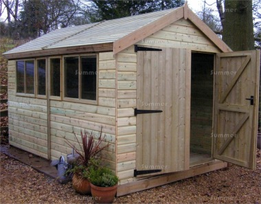 Shiplap Apex Shed 93 - T and G Floor and Roof