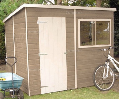 Pent Shed 104 - Shiplap