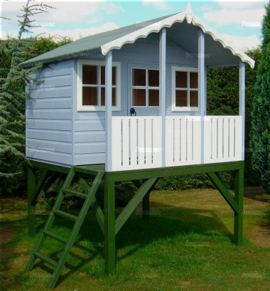 Childrens Playhouse 85 - Shiplap