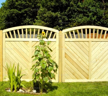 Fence Panel 566 - Planed Timber, 18mm T and G Boards, 4x2 Frame