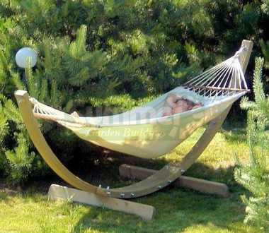 Hammock & Stand 223 - Pressure Treated Timber Arc Frame