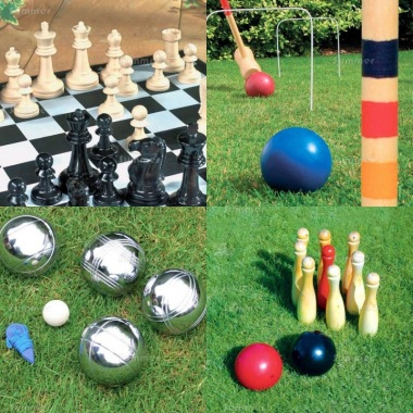 Multi Pack 527 - Chess, Croquet, Boules and Skittles