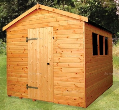 Shiplap Apex Shed 155 - Extra Tall Workshop, Thicker Boards