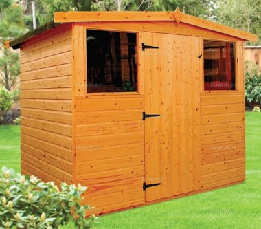 Shiplap Transverse Apex Shed 170 - All T and G