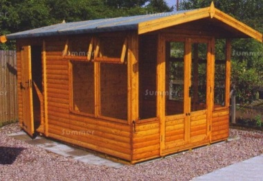 Apex Summerhouse 696 - Two Rooms, Large Panes