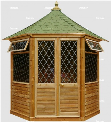 Hexagonal Summerhouse 851 - Pressure Treated