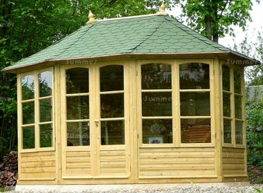 Georgian Octagonal Summerhouse 860 - Pressure Treated