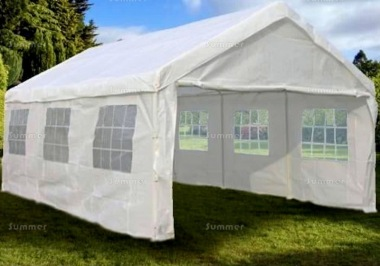 Party Tent 170 - Showerproof Polyester, Steel Framing