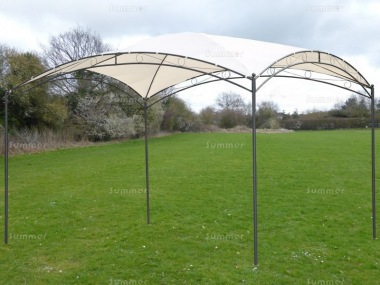 Metal Gazebo 176 - Curved Roof