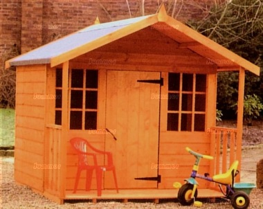 Childrens Playhouse 161 - Shiplap, All T and G