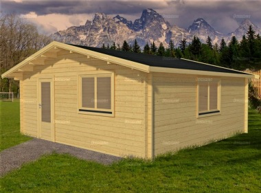 Apex Single Door Log Cabin 578 - Double Glazed