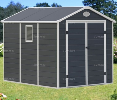 Low Maintenance Plastic Storage Shed 656