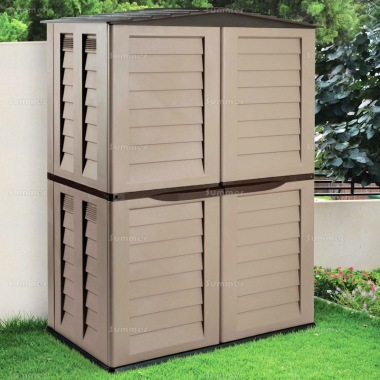 Low Maintenance Plastic Storage Shed 463