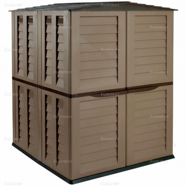 Low Maintenance Plastic Storage Shed 465