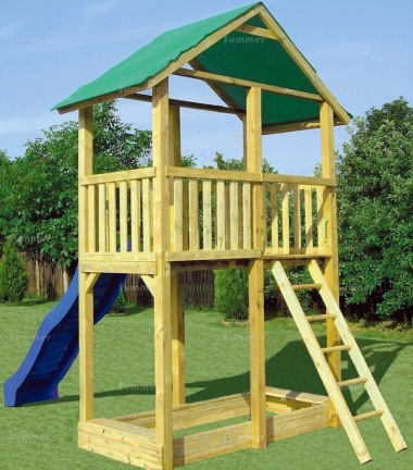 Tower Play Centre 206 - 4ft 9in High Platform and Slide