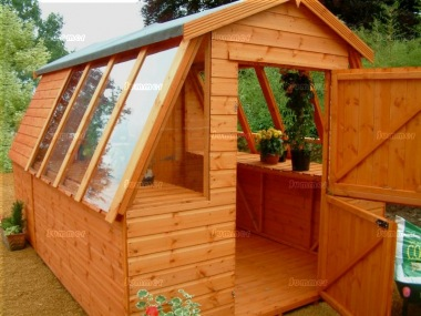 Potting Shed 603 - Apex Roof, Shiplap, All T and G