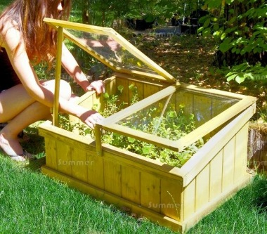 Wooden Cold Frame 479 - Pressure Treated