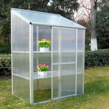 Growhouse 385 - Polycarbonate, Silver or Green Finish