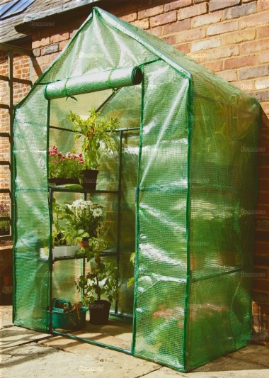 Small Walk in Growhouse 442 - Reinforced Cover