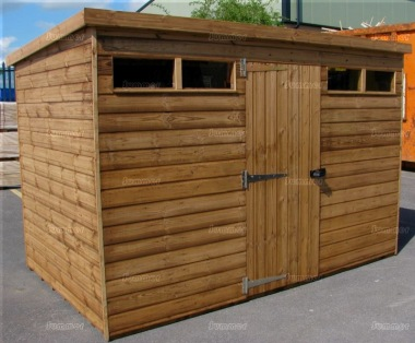 Security Pent Shed 568 - Shiplap, T and G Floor and Roof