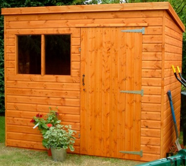 Shiplap Pent Shed 53 - Extra Tall, All T and G