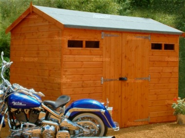 Security Apex Shed 621 - Side Double Door, Extra Tall