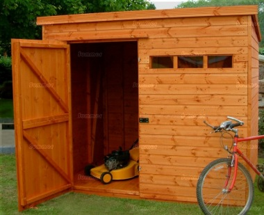 Security Pent Shed 63 - Shiplap, Extra Tall