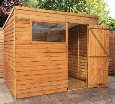 Overlap Pent Shed 274