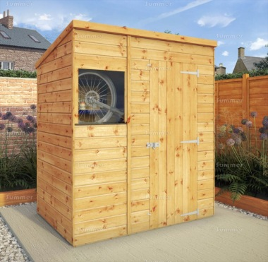 Shiplap Pent Shed 282