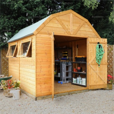 Shiplap Barn Style Apex Shed 357 - All T and G