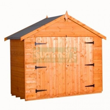 Shiplap Double Door Transverse Apex Shed 230